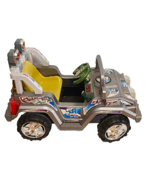 Auto elettrica per bambini fuoristrada con telecomando - Art. 2098