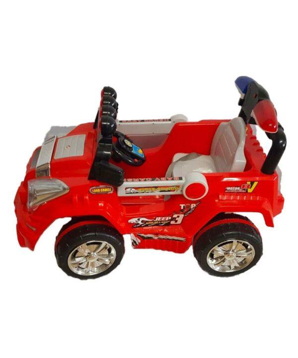 Auto elettrica per bambini fuoristrada con telecomando - Art. 3098