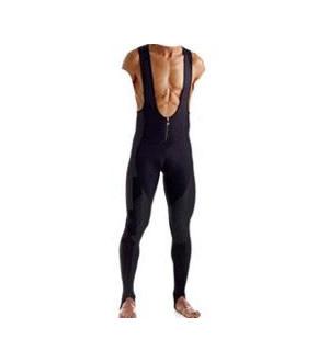 Pantalone lungo con bretelle e inserti anteriori in Windtex - Art. SN1105W