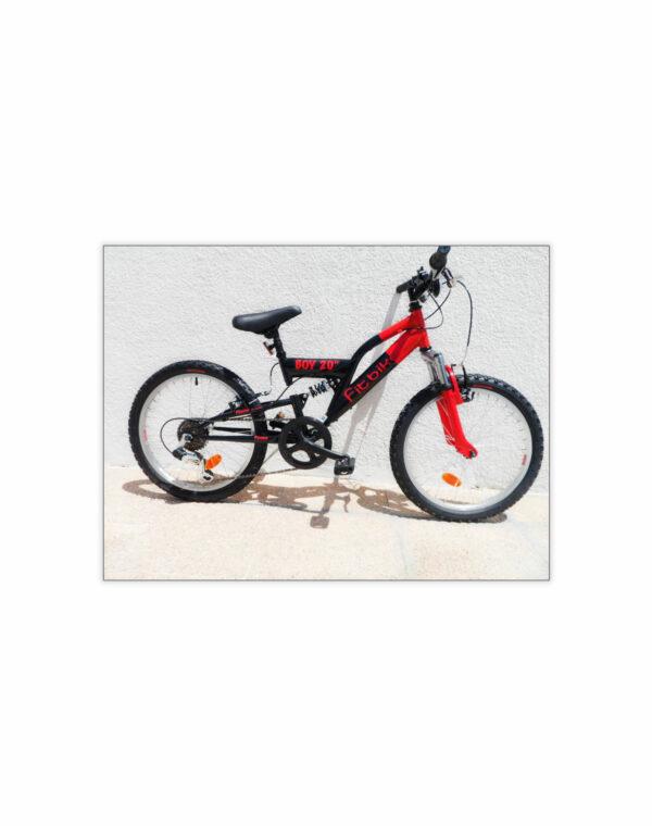 """FitBike bambino Art. FM1420104 - 20"""" - 6 velocità - dual suspension"""