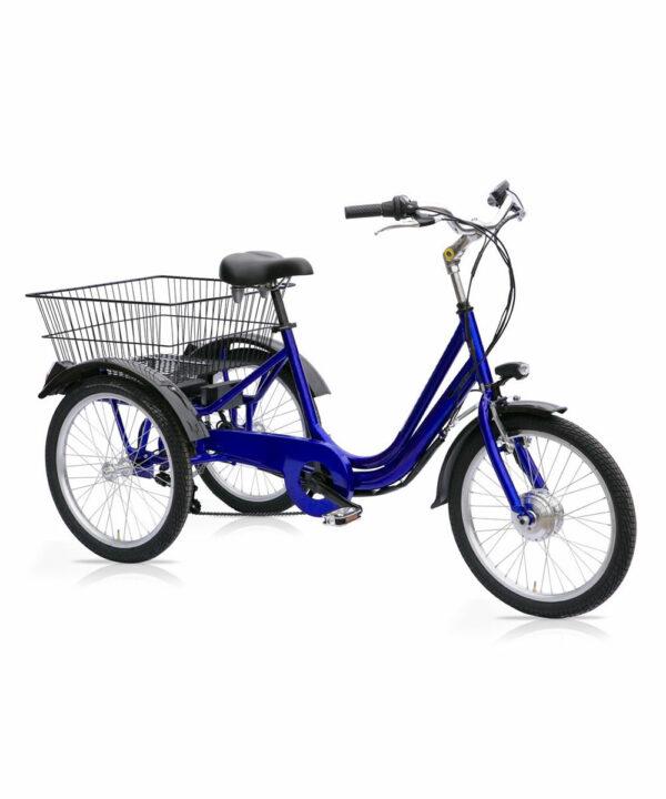 """Triciclo elettrico 24"""" - 6 velocità"""